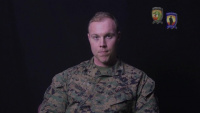 Sgt. Reeder Discusses NCO Fellowship