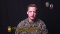 Capt. Lethbridge Discusses NCO Fellowship