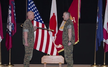 MCAS Iwakuni appoints new station sergeant major (Package/Pkg)