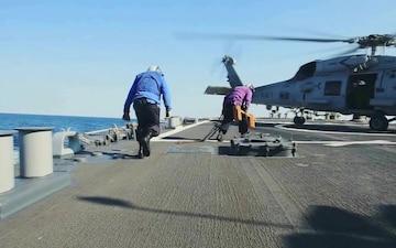 USS Mitscher Completes TFEX