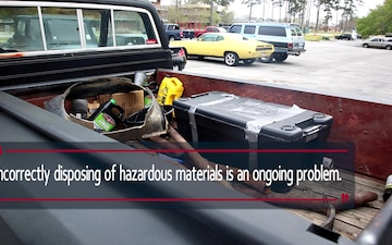 Earth Day Hazardous Material