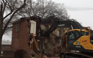 COLYER MANOR DEMOLITION VIDEO