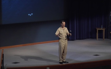 Chief of Naval Operations remarks at U.S. Naval War College