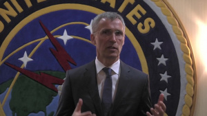 NATO Secretary General Visits Stratcom Headquarters