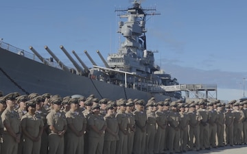 Chief Petty Officers Celebrate 125th Birthday in Pearl Harbor