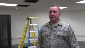 Air National Guard Airmen Recycle Communications Hardware