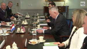 Mattis Meets With Netherlands Defense Minister