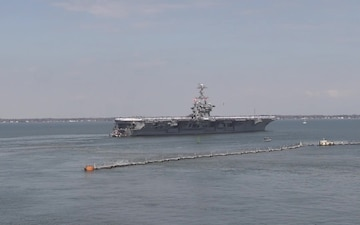 USS Harry S. Truman (CVN 75) deploys