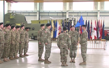 Change of Command 1-214th GSAB