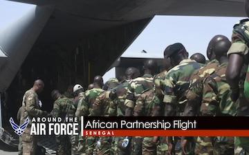 Around the Air Force: Thunderbird Crash / African Partnership Flight