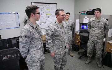 Chief of National Guard visits 111th Attack Wing