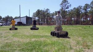 Gunner's Underground: 2dMARDIV Tests Autonomous Targets