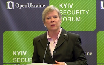 NATO Deputy Secretary General visits Ukraine, Speech at Kyiv Security Forum