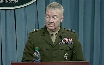 Chief Pentagon Spokesperson Briefs Pentagon Reporters