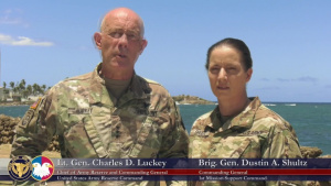 Army Reserve Hurricane Relief Update