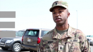 "Army Reserve Highlight ""1st Lt. Cassian Nunez"""