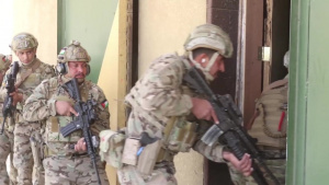 Jordan and U.S. armed forces conduct live-fire room clearing as part of exercise Eager Lion 2018