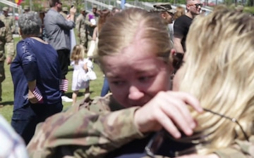 3ID Welcomes Home Last group of Soldiers