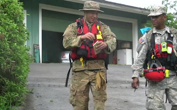 Hawaii Army National Guard supports Kauai flood recovery efforts