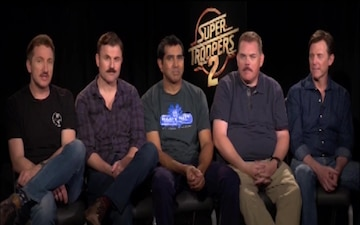 Super Troopers 2 Cast 110th USAR Birthday Shout Out