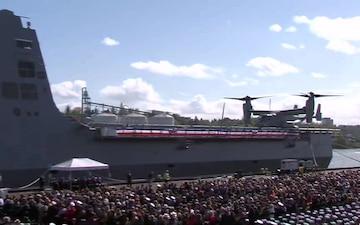 USS Portland Commissioning