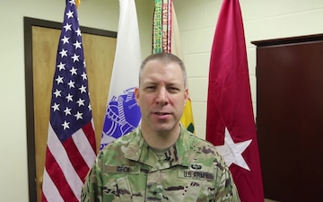 103rd Sustainment Command (Expeditionary) Commanding General gives Army Reserve Birthday Message