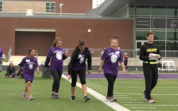 Army Reserve Soldiers Support Special Olympics Texas