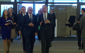 Visit to NATO by the Prime Minister of the Commonwealth of Australia