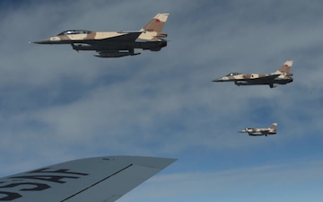 EX AFRICAN LION - Refuel Ops, F-16, F-15, B-52 Show-of-Force