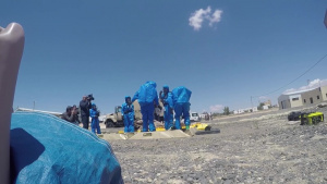 26th Marine Expeditionary Unit and Jordan Armed Forces combine for CBRN reaction event during Eager Lion 2018