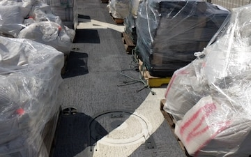 Coast Guard unloads 24,886 pounds of cocaine, 2,664 pounds of marijuana in Port Everglades