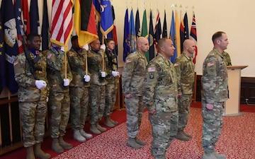 Change of Responsibility Ceremony 1-3 Attack Reconnaissance Battalion Command Sergeant Major