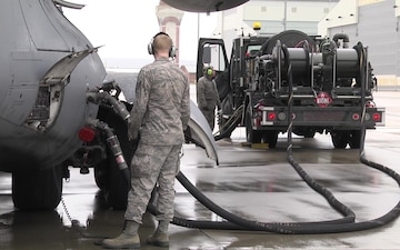 167th Airlift Wing Serves as Transition Point for Army Equipment