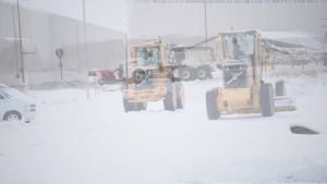 Snow team six: 28th CES plows and allows Ellsworth to continue operations