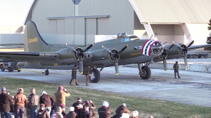 B-17F Memphis Belle Moved to WWII Gallery
