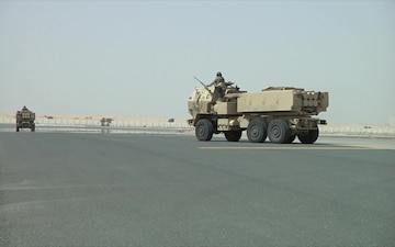 It's all about speed: U.S. and Emirati forces practice rapid infiltration of HIMARS