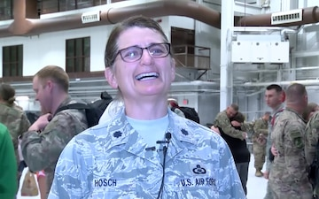 Iowa Air Guard members return from six month deployment