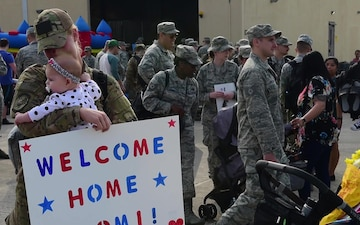 606 ACS returns from deployment