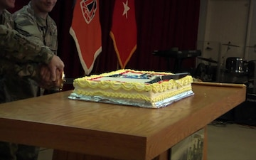 Soldiers celebrate Army Reserve 110th Birthday