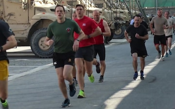 180th Cavalry Regiment brings 'Run to Remember' to Kabul