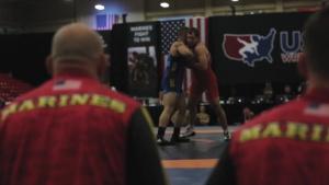 Marines Partner with USA Wrestling