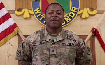 SPC Christopher Williams Mother's Day Shout Out