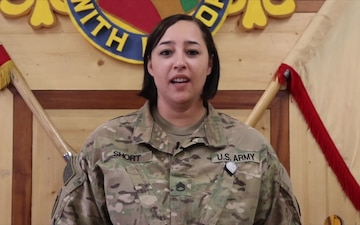 SSG Amber Short Mother's Day Shout Out