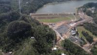Guajataca Dam overflight