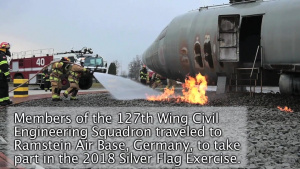 127th Civil Engineers Train at Silver Flag 2018