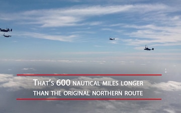 Ospreys and KC-10 make first-of-a-kind trip