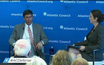 Army Secretary Speaks at Atlantic Council Event