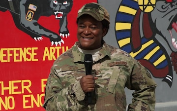 Master Sgt. Camille Taylor