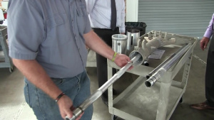 Did I Sputter?; Technology offers repair for landing gear, cost savings