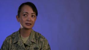 Air Force Aid Society Testimonial: TSgt Romeriza Miguel